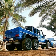 Mercedes-Benz G 63 AMG 6x6 in a cool colour