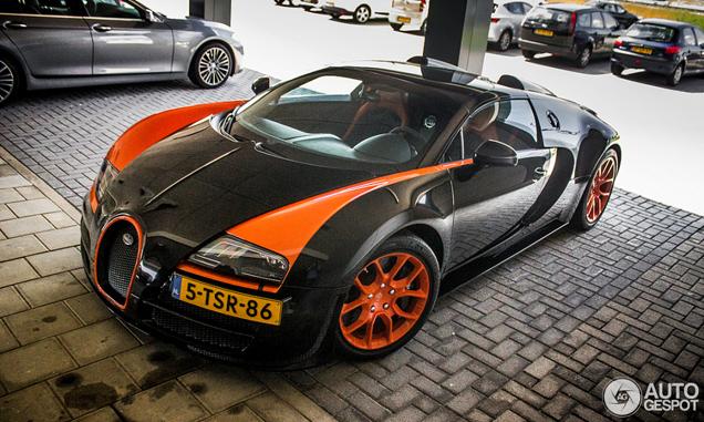 spot van de dag bugatti veyron 16 4 grand sport vitesse wrc. Black Bedroom Furniture Sets. Home Design Ideas