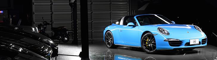 Właściciel prezentuje swoje wyjątkowe Porsche 991 Targa