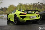Groener kan een Porsche 918 Spyder niet worden