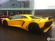 Lamborghini Aventador LP750-4 SV maakt op straat betere indruk