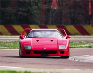 Movie: four generations of supercars are having fun at Fiorano