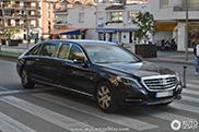 Gespot: Mercedes-Maybach Pullman S600