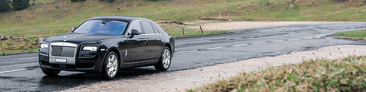 Fotoshoot: Rolls-Royce Ghost Series II