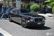 Red details make this Mulsanne look special