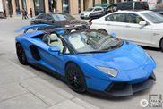 Lamborghini Aventador Novitec Torado in blau