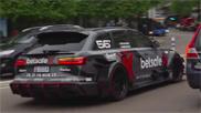 Filmpje: Uber wordt steeds hipper, Audi RS6 DTM als taxi
