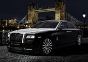 Rolls-Royce Ghost San Moritz is perfect for the underworld