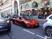Vijfde McLaren P1 voor Genève is Volcano Orange