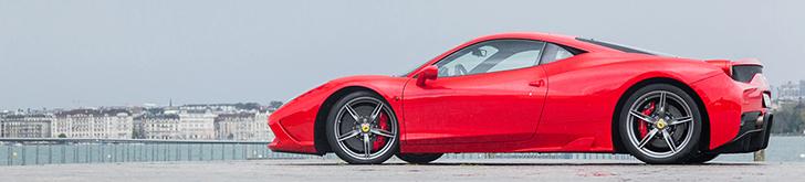 Sesja zdjęciowa: Ferrari 458 Speciale