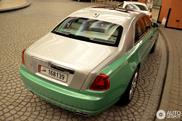 Rolls-Royce Ghost Prince of Time schittert in Dubai
