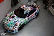 Prowrap wrapt Porsche in ontwerp van Joseph Klibansky