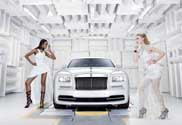 Rolls-Royce Wraith for the fashion world