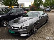 Pk beul gespot in Gorinchem: Mercedes-Benz Brabus SL850 6.0 Biturbo