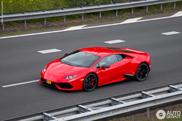 Spot van de dag: Kleurige Lamborghini Huracán LP610-4