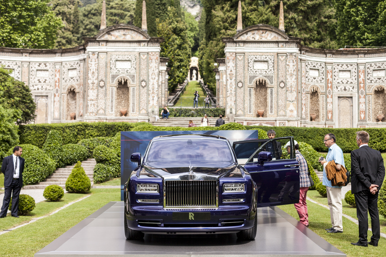2015 Rolls Royce Phantom Limelight Wallpaper: Villa D'Este 2015: Rolls-Royce Phantom Limelight Collection