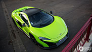 Spotted: bright green McLaren 675LT
