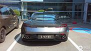 Aston Martin DB11 spotted in Geneva