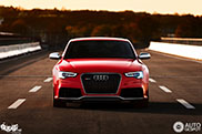 Beautiful photos of an Audi RS5