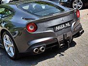 Opmerkelijk: 's werelds eerste Ferrari F12berlinetta met trekhaak!