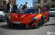 Topspot: straatlegale McLaren P1 GTR in Monaco