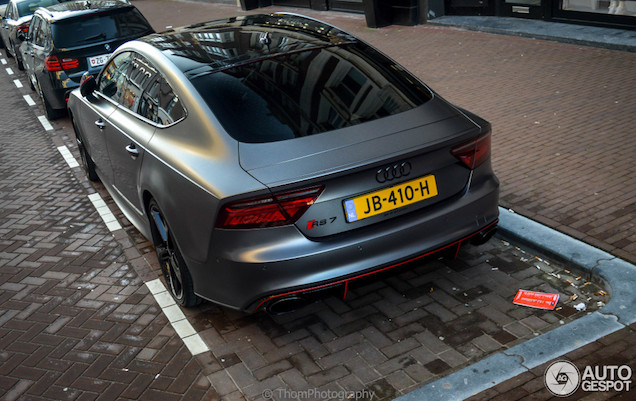photo of Mr Probz Audi RS7 - car