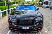 Sportieve Rolls-Royce Dawn gespot in Knokke-Heist