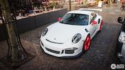 Spot van de dag: Porsche 991 GT3 RS met bijzondere samenstelling