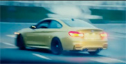 Russian in BMW M4 sees Moscow as a playground