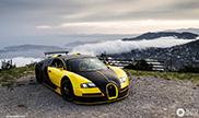 Beautiful photos of the unique Bugatti Veyron 16.4 Oakley Design