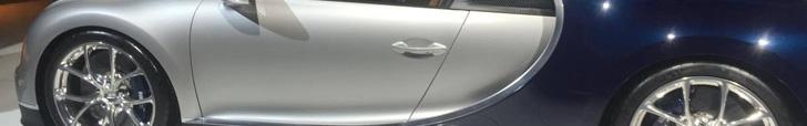 Bugatti Chiron al voor even in Nederland