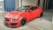 Atarius Concept builds CLA 45 AMG Black Series