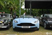 Babyblauw de kleur voor Aston Martin DB11?