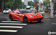 Ferrari F12tdf arrived in Taiwan!