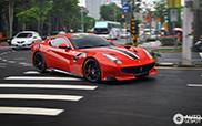 Ferrari F12tdf gearriveerd in Taiwan!