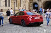 Gespot: Alfa Romeo Giulia QV