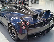 Pagani shows the Huayra Pearl