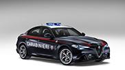 Carabinieri neemt nieuwe Alfa Romeo Giulia Quadrifoglio in ontvangst