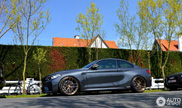 BMW M2 with a nice set of wheels