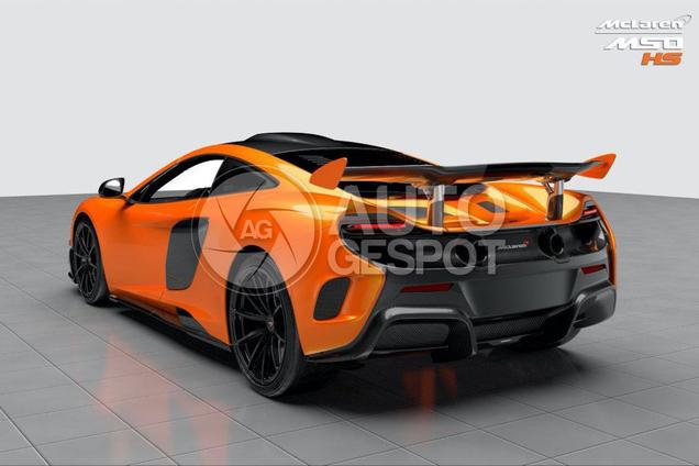 World premier! This is the McLaren 688 HS