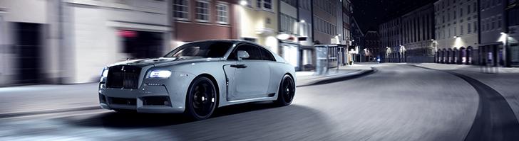 Spofec geeft Rolls-Royce Wraith meer body