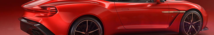 Aston Martin toont Vanquish Zagato op Villa d'Este