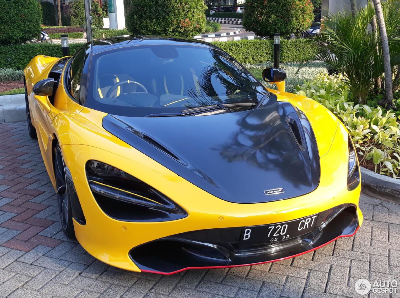 Eerste McLaren 720S in Jakarta is opvallend
