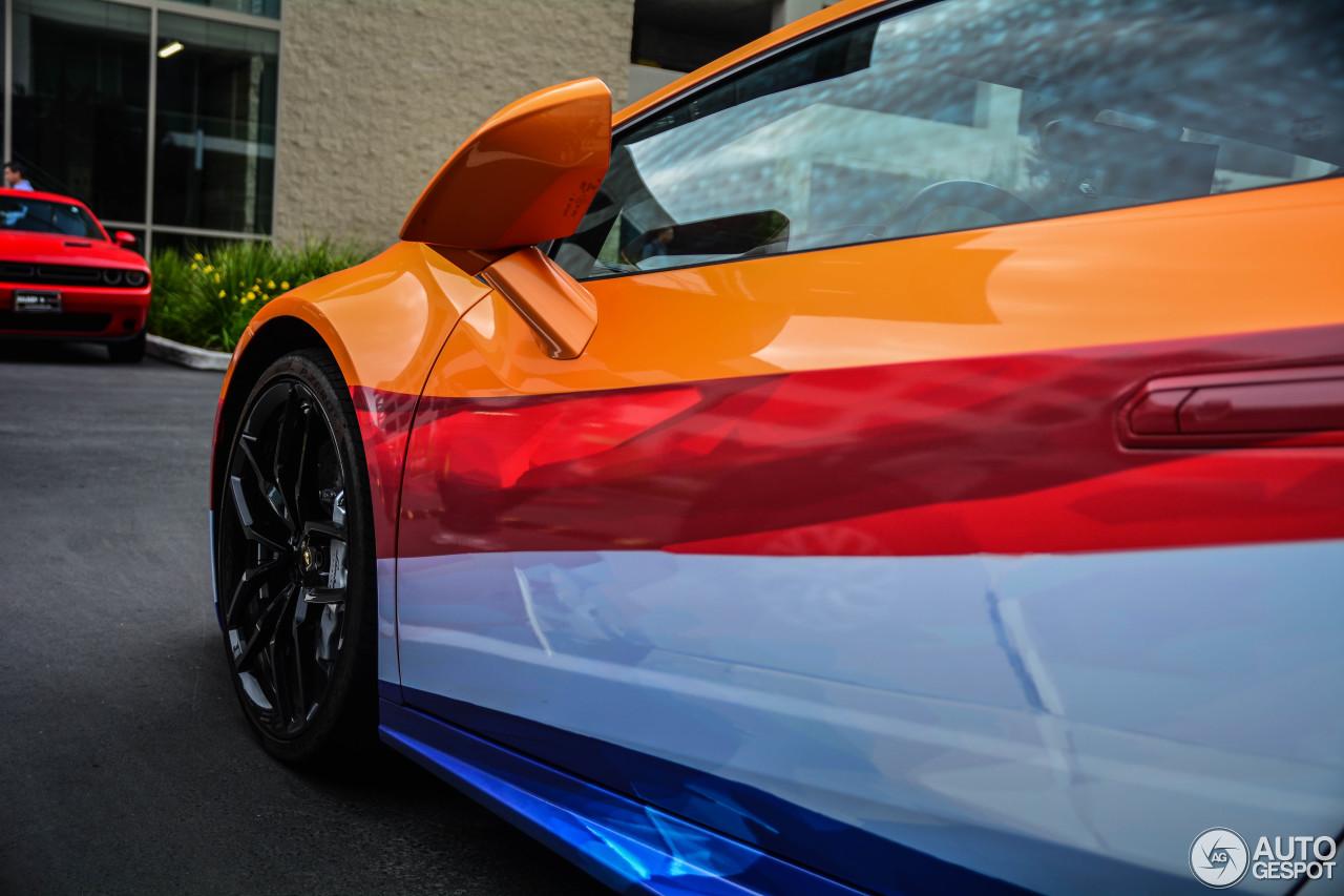 Deze Lamborghini rijder houdt van Holland