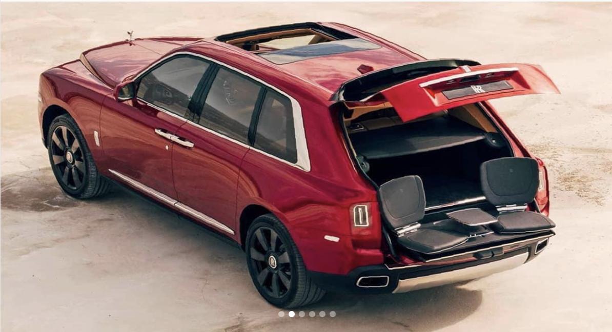 Rolls-Royce Cullinan is er eindelijk!