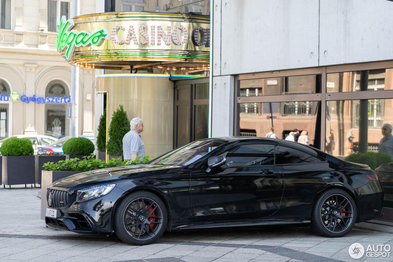 Sinistere S 63 AMG Coupé in Hongarije
