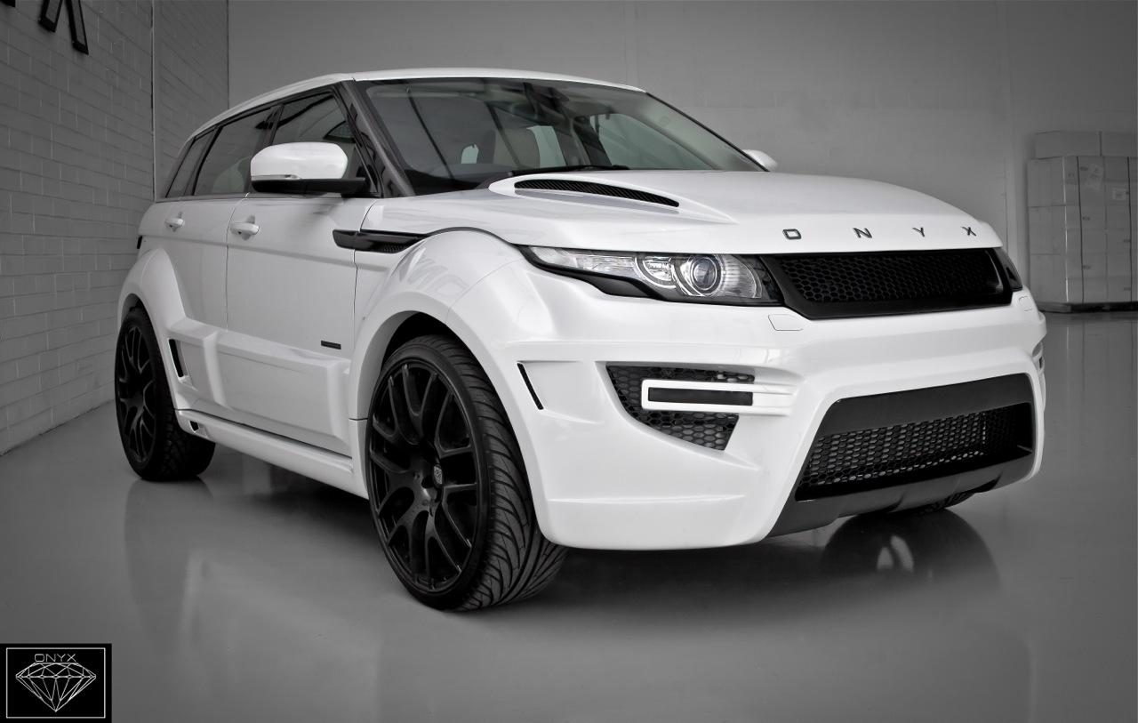Rogue Edition Range Rover Evoque According To Onyx Concept