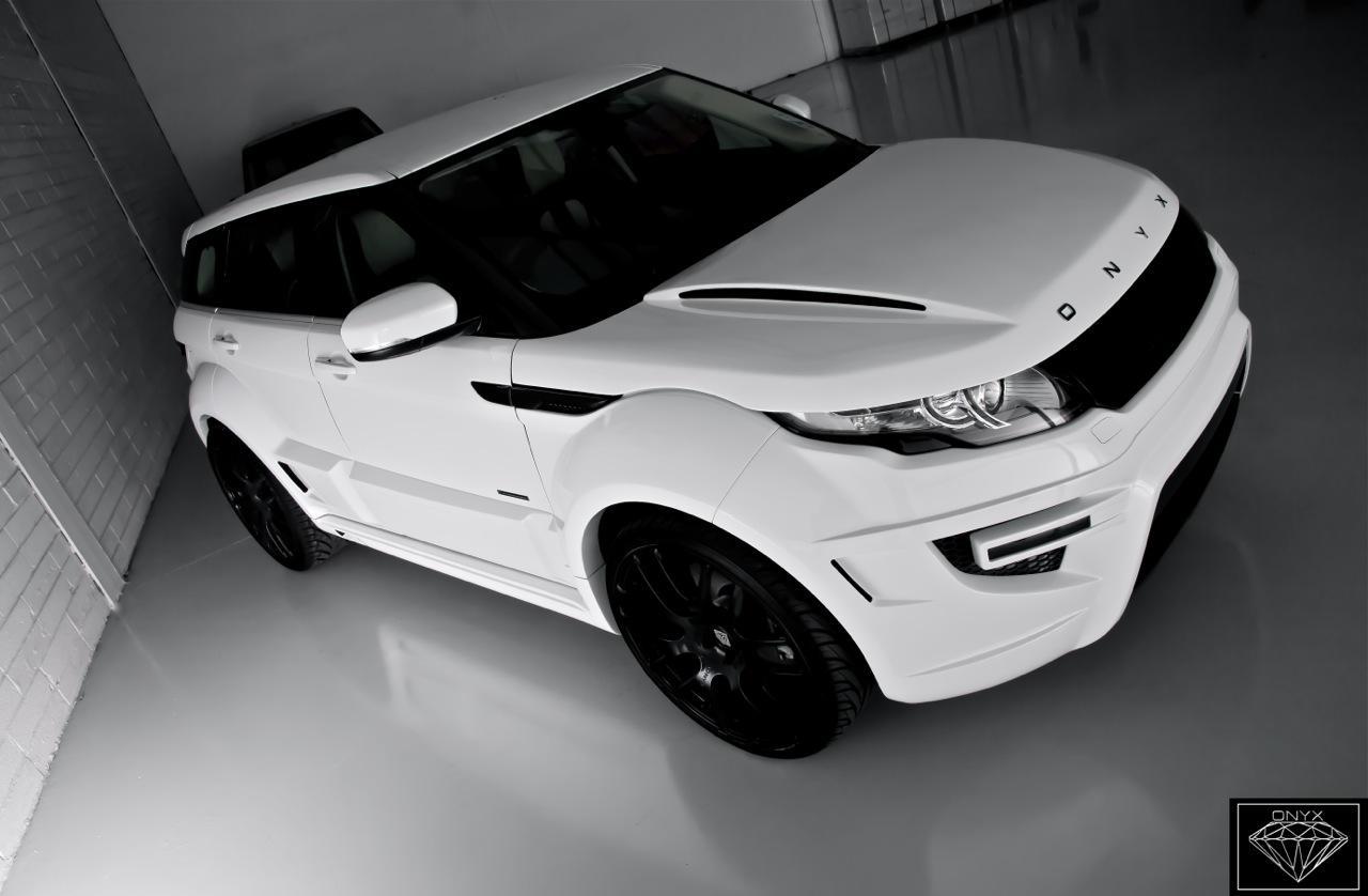Rogue Edition Range Rover Evoque According To Onyx Concept