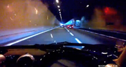 Movie: 10 Paganis in a tunnel!