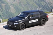 Bentley's SUV takes shape and we like it!